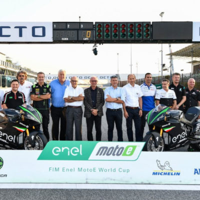 The point of Nicolas Goubert, director of MotoE World Cup