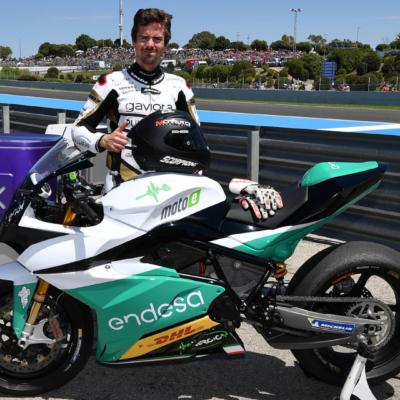 Nico Terol pilota dell'Ángel Nieto Team
