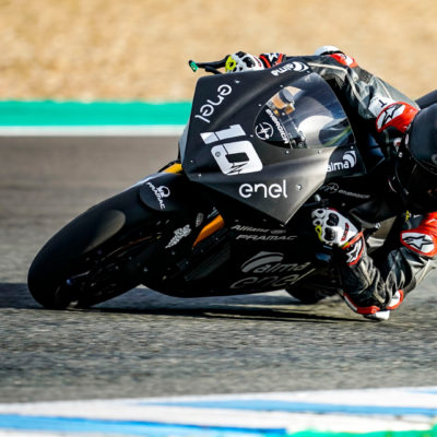 The second test day of the MotoE in Jerez