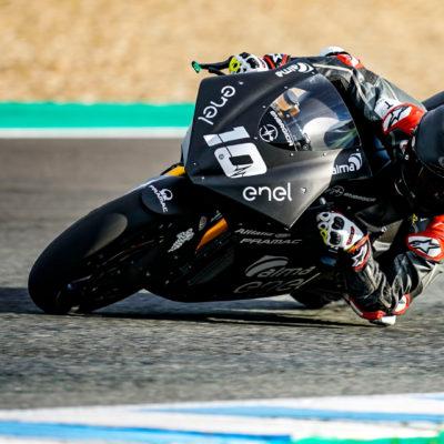 Il secondo giorno di test della MotoE a Jerez