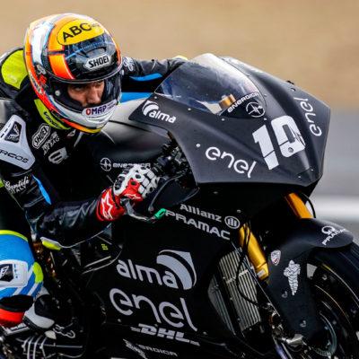 Terzo giorno di test a Jerez, vento e pista umida