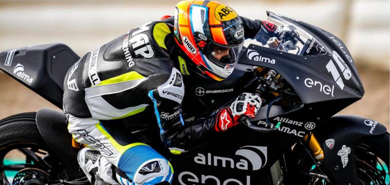 Alex De Angelis parla di regole e sicurezza per le gare di MotoE