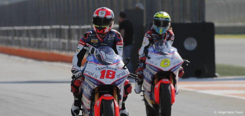 Ángel Nieto team: le parole dopo i test MotoE di Valencia
