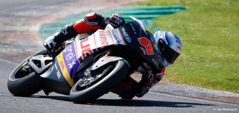 The third day of the tests MotoE in Valencia