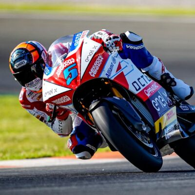 Octo Pramac team: the test report MotoE in Valencia