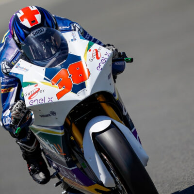 Bradley Smith satisfied with the MotoE