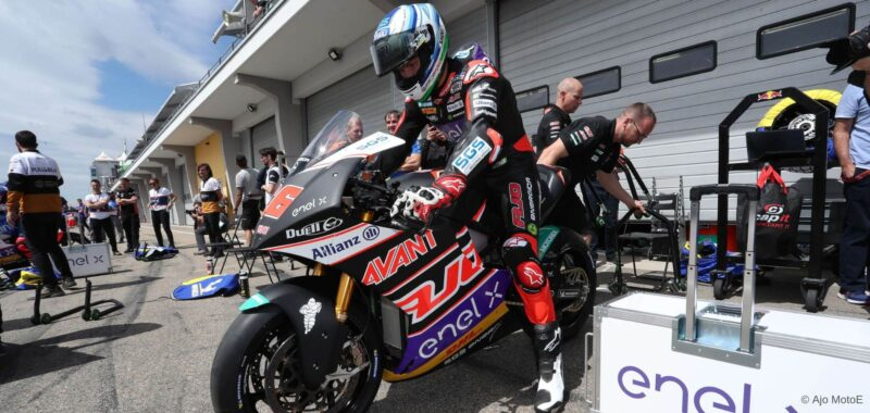 Aki Ajo and MotoE: we are here to win