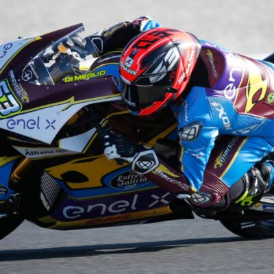 Mike Di Meglio in the lead after the FP2 of the GP of Gemania
