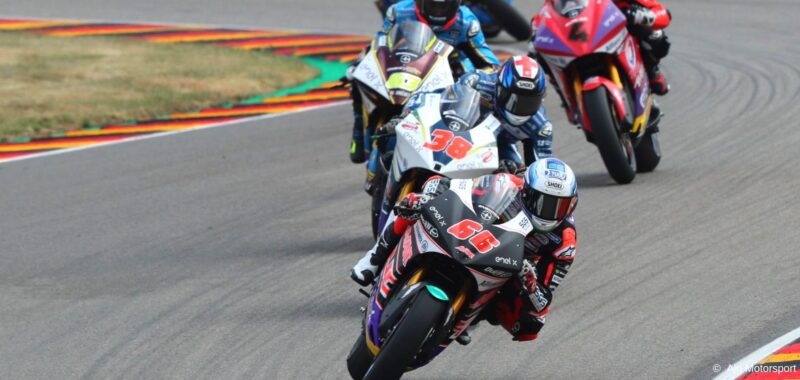 MotoE in Germany: Niki Tulli of the Ajo Motorsport team wins