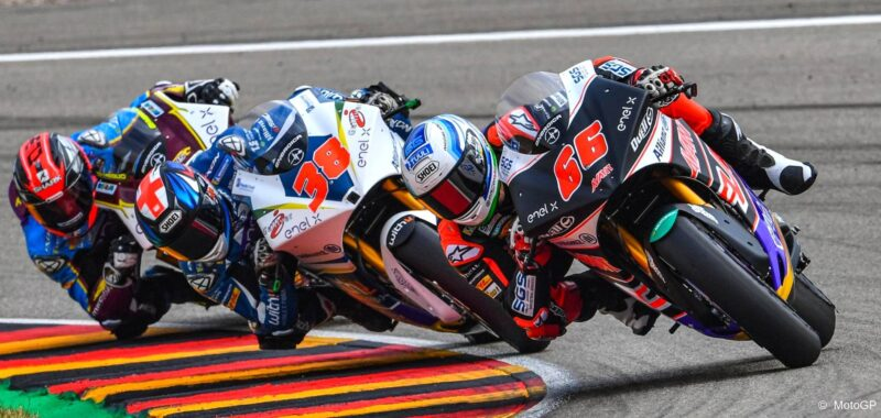 The words of the top riders of the MotoE  at Sachsenring