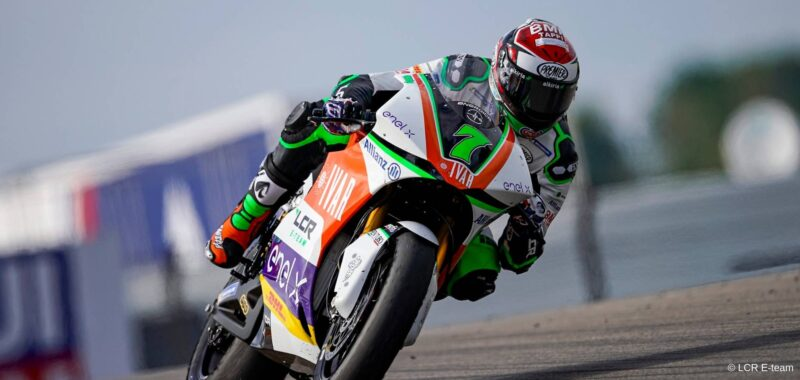 LCR E-team: with the MotoE at the Sachsenring