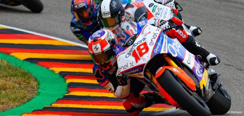 Il team Openbank Angel Nieto alla prima gara in MotoE