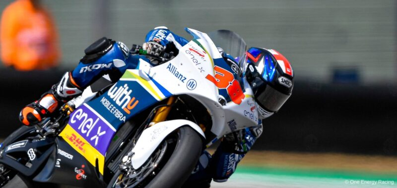 Bradley Smith: the first day of MotoE to the GermanGP