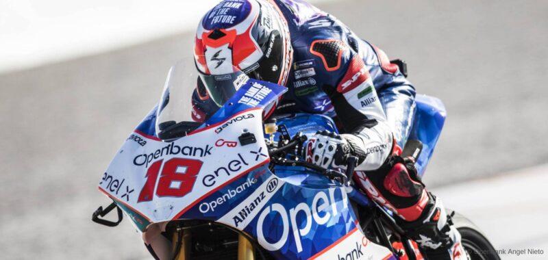 Il team Openbank Ángel Nieto pronto per la MotoE in Austria