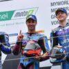 Le parole dei piloti sul podio della MotoE in Austria