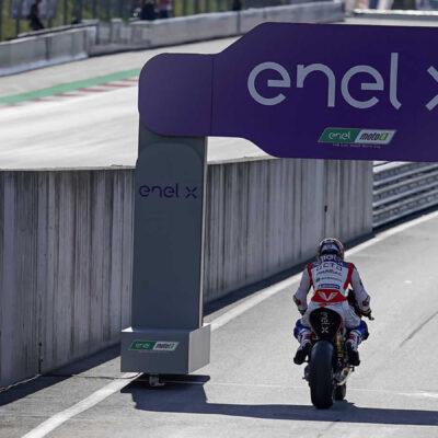 Terza File nella E-Pole austriaca per il team Octo Pramac MotoE