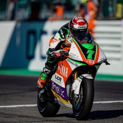 The LCR team closes to the podium in MotoE at the SanMarinoGP