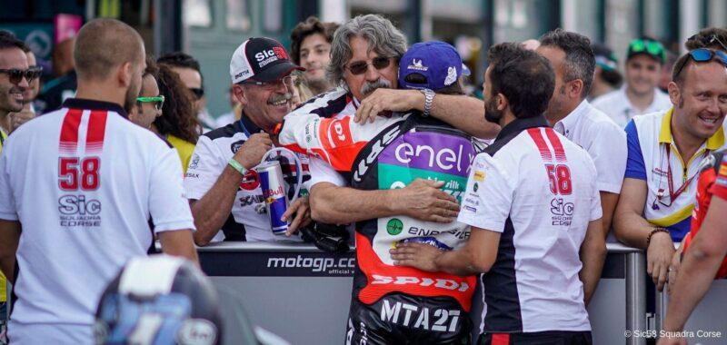 SIC58 Squadra Corse: il SottoSopra in MotoE al GP di Misano