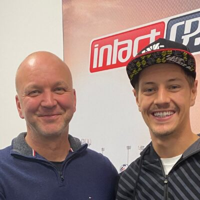 Dominique Aegerter in MotoE con il team IntactGP