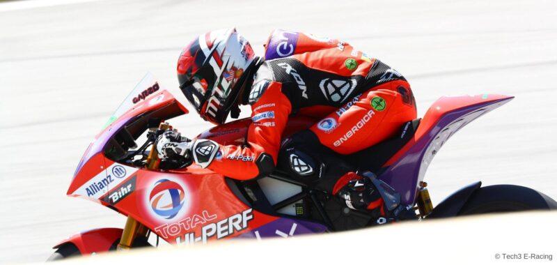 Garzò achieve the FP1 of the ValenciaGP