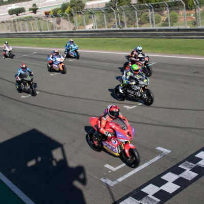 The schedule of the MotoE round in Valencia