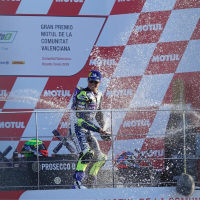 The riders' words on the race 1 podium in Valencia