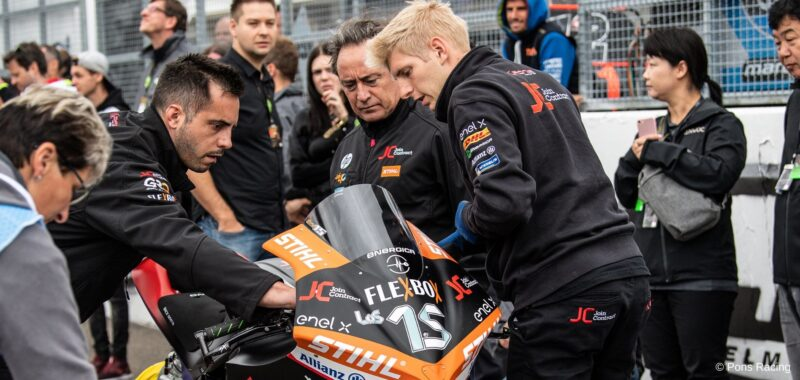 Jordi Torres è il nuovo pilota del team Pons in MotoE