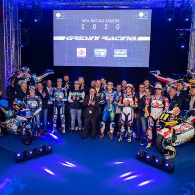 Il Team Trentino Gresini MotoE pronto per il 2020