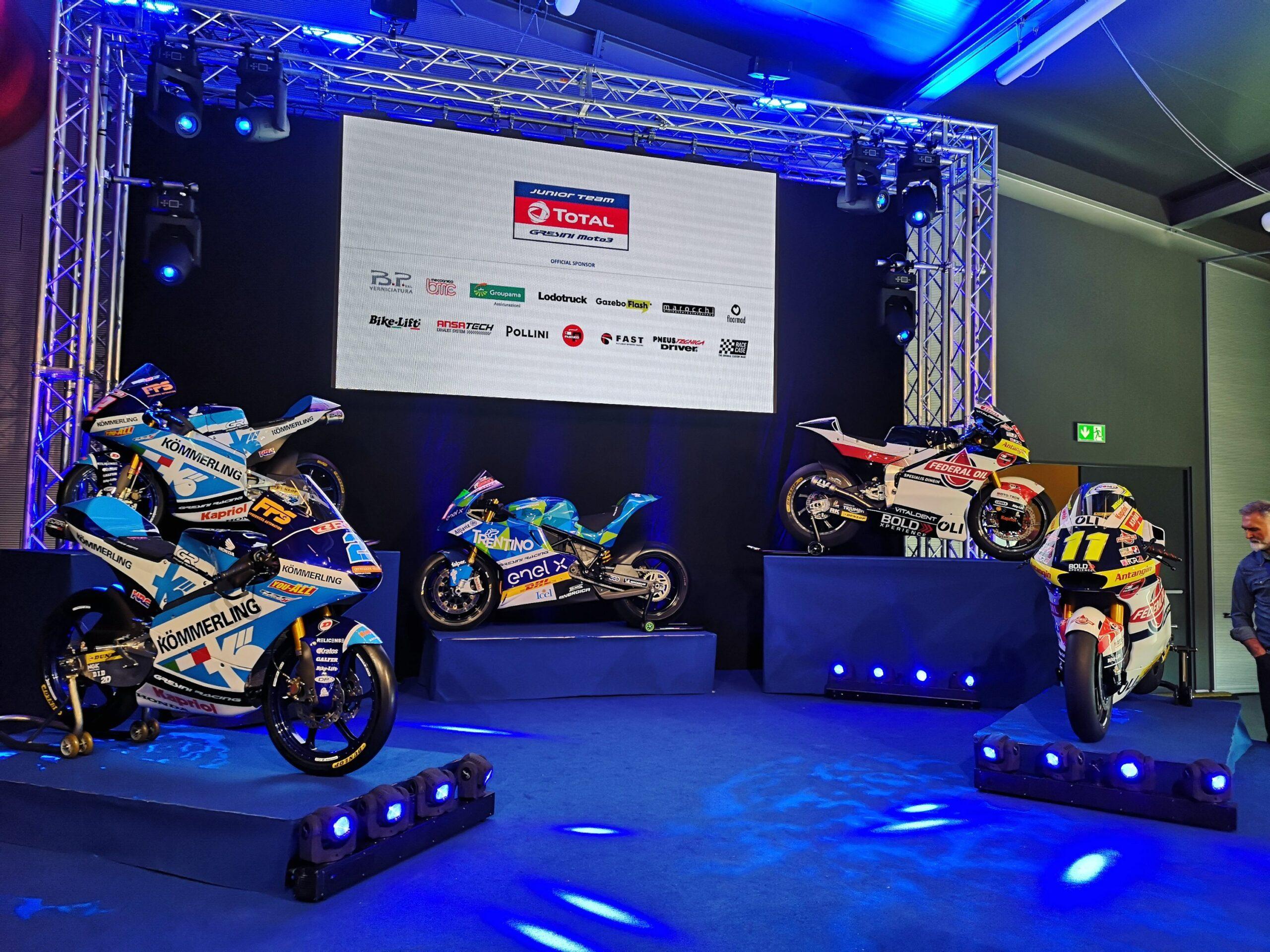 MotoE World Cup: la presentazione del team Gresini 2020