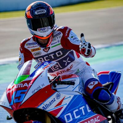 Test MotoE : the results of the OCTO Pramac team