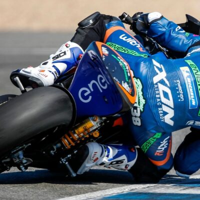 MotoE  test in Jerez: the Michelin tyres