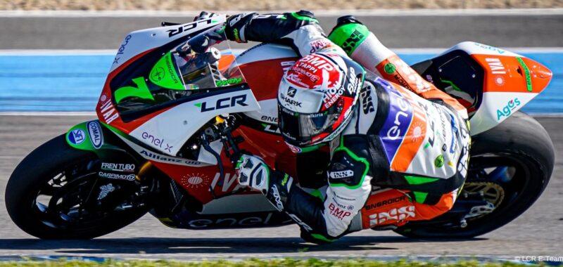 I progressi dell'LCR E-Team nei test della MotoE a Jerez