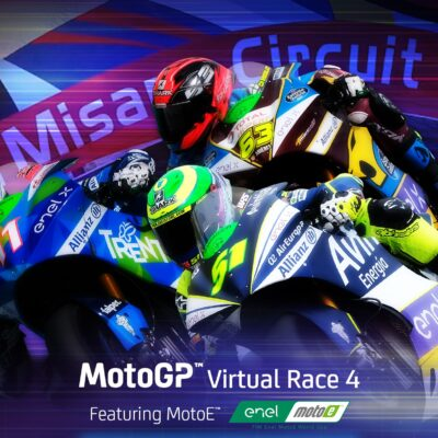Ferrari wins the Virtual Race of the MotoE  in Misano