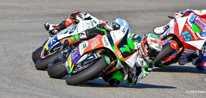 Risultati positivi per l'LCR E-Team nel GP di Andalusia
