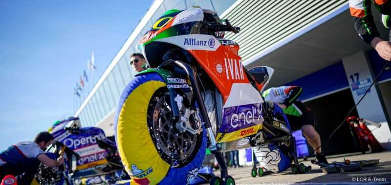 I nuovi pneumatici Michelin Slick MotoE