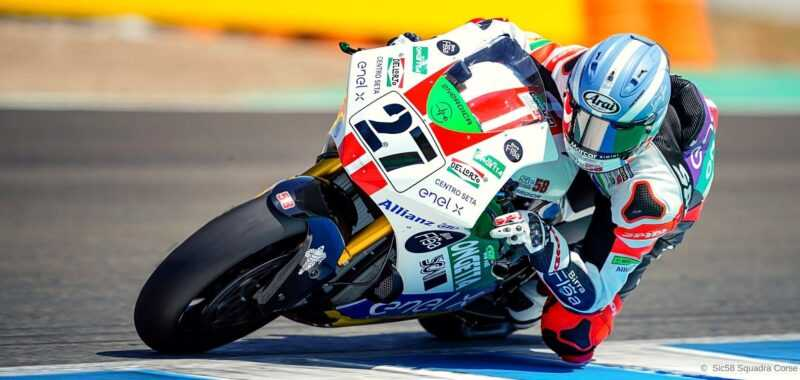 GP di Andalusia FP1: Aegerter, Casadei e De Angelis davanti