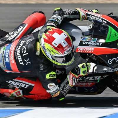 Aegerter fifth in the friday free practice of the Spanish GP