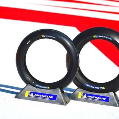 The new Michelin MotoE tyres for the Misano GPs