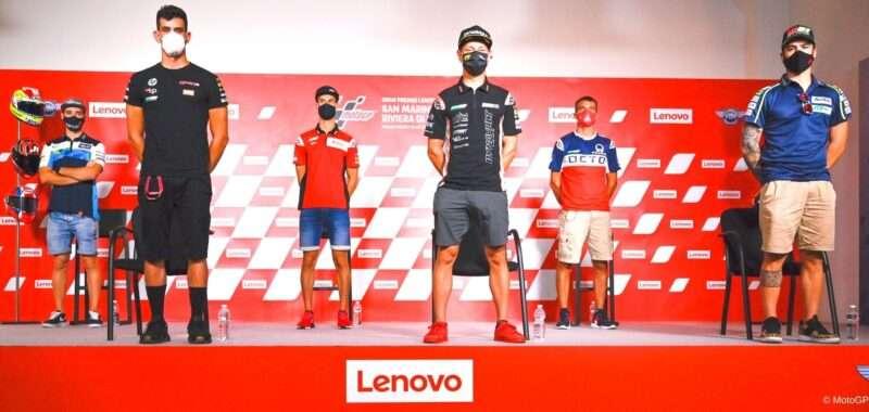 I piloti della MotoE pronti per il GP di San Marino
