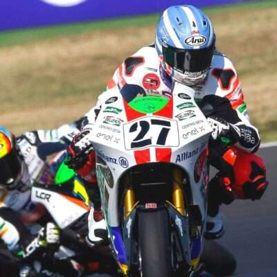 Another great race for Mattia Casadei and the Sic58 team