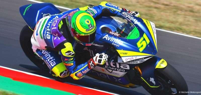 Emilia Romagna GP FP1: first Eric Granado
