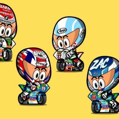 4 Italian riders out of 5 in Race 2 at Misano