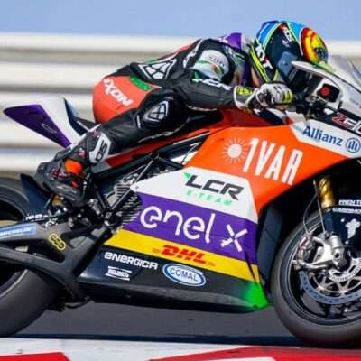 Positive start for the LCR E-Team at Misano