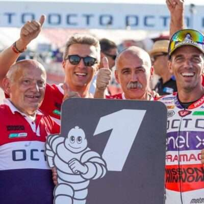Alex De Angelis: I say goodbye to racing, not to passion