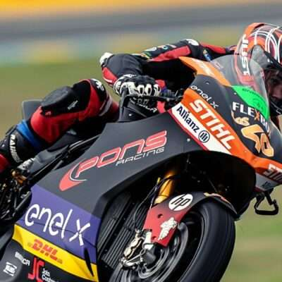 France GP: Jordi Torres in pole position