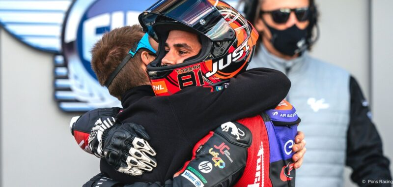 Jordi Torres and Pons Racing 40 together also in 2021