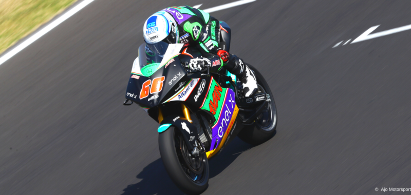 Interview with Niki Tuuli after the second season in MotoE