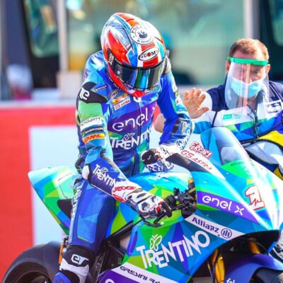 Matteo Ferrari: a journey into MotoE - part 2