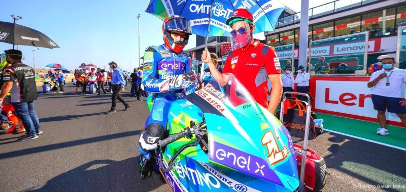 Lo schieramento del team Gresini Racing in MotoE per il 2021