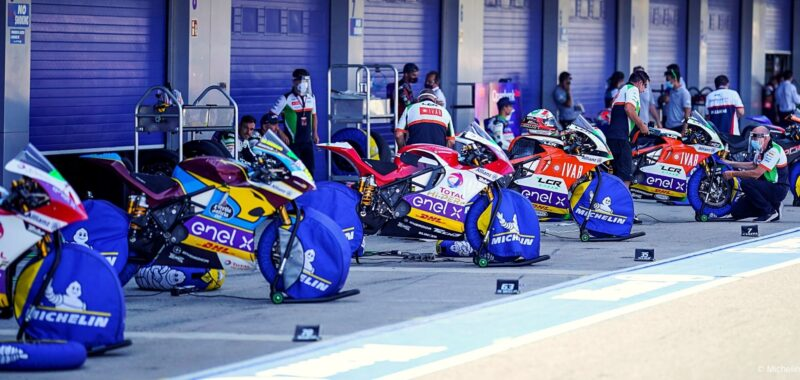The provisional line-up of the MotoE World Cup 2021